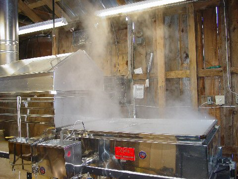 maple sugar evaporator